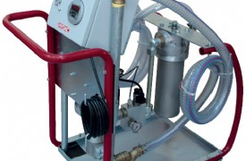 Kirlilik Ölçüm Sensörlü Mobil Filtrasyon Ünitesi