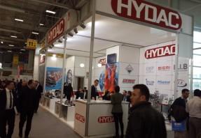 Hydac Türkiye WIN 2015 Fuarında.