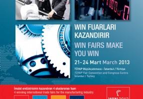 Hydac Türkiye 2013 Win Fuarında...